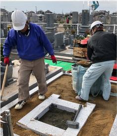 西日本石材職人さんの会:サービス事例4